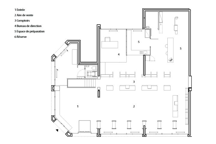 Projets >> Pharmacie de l'Alma | POLLUX architecture & design