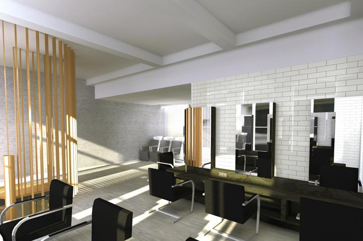 Salon de coiffure Philippe Gonay Lille II | POLLUX architecture u0026 design